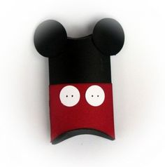 Mickey Mouse Pillow Treat Boxes Set of 12 by BBGPartyDesigns, $12.99