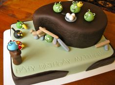 Decorate This!: Happy Birthday (Angry Birds style!)