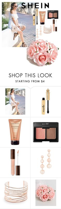 """White Off the Shoulder Lace Dress"" by giulia-ostara-re ❤ liked on Polyvore featuring Christian Dior, Charlotte Russe, Rebecca Minkoff, Alexis Bittar and ASOS"