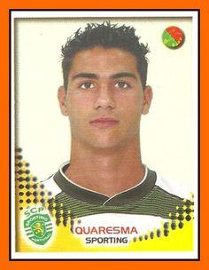 Quaresma. Football Stickers, Football Cards, Football Soccer, Football Players, Baseball Cards, Portugal Soccer, Sport C, Player Card, Panini
