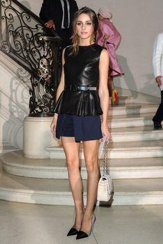 Christian Dior: Front Row - Paris Fashion Week Haute Couture F/W 2013