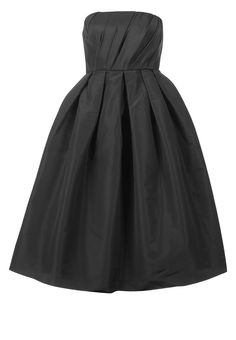 Sprookjesachtige zwarte jurk van Tibi @ Zalando ♥ Black & White