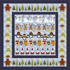 (7) Name: 'Quilting : Christmas Row x Row