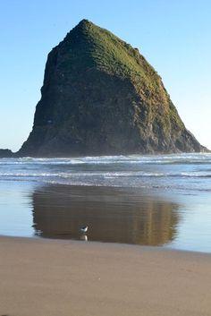 Haystack Rock - Oregon Coast  http://www.oregonbeachvacations.com/