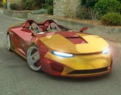Cool Stuff We Like Here @ http://CoolPile.com ------- << Original Comment >> ------- Car Iron Man