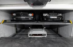 Dream Garage by Ni.St|Photography, via Flickr - Mercedes E500, Coupe & Lancia Delta Integrale Evo