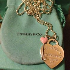Tiffany & Co.Rings : Tiffany & Co. Tiffany And Co Jewelry, Tiffany Necklace, Tiffany Bracelets, Tiffany Outlet, Vogue Fashion, Tiffany Blue, Heart Charm, Street Style Women, Girly Things
