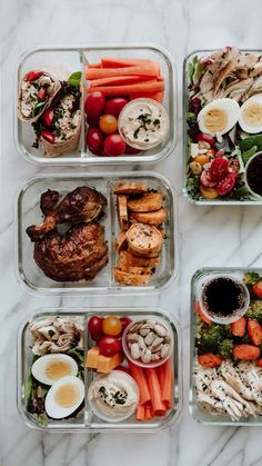 Rotisserie Chicken Meal Prep: 5 Easy Lunches 5 Easy Meals to Prep with 1 Rotisserie Chicken. Healthy lunches that help you clean out your fridge and save time! The post Rotisserie Chicken Meal Prep: 5 Easy Lunches appeared first on Gesundheit. Healthy Meal Prep, Healthy Drinks, Healthy Snacks, Eat Healthy, Easy Work Lunches Healthy, Healthy Lunchbox Ideas, Easy Lunch Meal Prep, Weekly Meal Prep, Meal Prep Low Carb