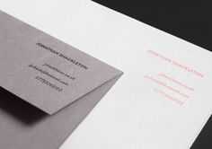 PERSONAL IDENTITY by Jonathan Shackleton, via Behance