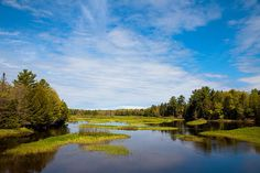 #ADK #Adirondacks #OldForge - The North Branch of the Moose River - Old Forge, New York