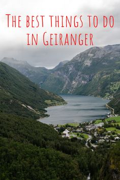 The small village of Geiranger in Norway is the perfect destination if you want to explore Geirangerfjord. Many of the things to do in Geiranger revolve around the fjord – from the Norwegian Fjord Centre to fjord cruises. On top of that, there are some brilliant viewpoints of Geirangerfjord – including the Geiranger Skywalk at Dalsnibba and the Flydalsjuvet Rock Viewpoint. Don't miss this article covering the best things to do in Geiranger, Norway! #norway #norwaytravel #europetravel