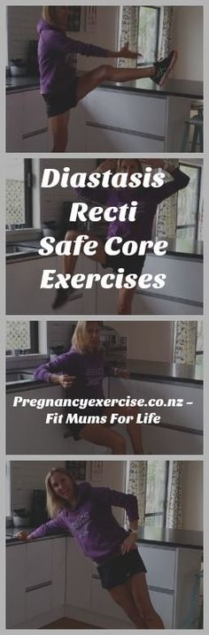 Exercises to heal #DiastasisRecti Abs are made in the kitchen!