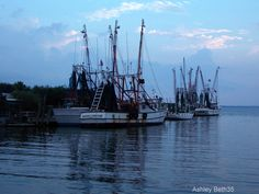 Shrimp boats on Shem Creek