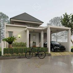 House Outer Design, Modern Small House Design, Modern Minimalist House, Design Your Dream House, Minimalis House Design, House Construction Plan, Design Exterior, Latest House Designs, Home Building Design