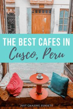 The best cafes in Cusco, Peru. These cafes are all located in the San Blas neighborhood of Cusco and are not to be missed! Traveling to South America is easier than ever before. Machu Picchu, Peru Travel, Solo Travel, Hawaii Travel, Italy Travel, Travel Tips, Brazil Travel, Travel Books, Argentina Travel