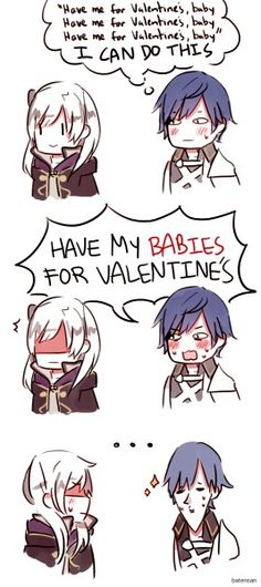 I love how Chrom is the Prince, the fearless leader, the dashing hero of Ylisse.... and he's so dang awkward at the same time.