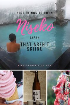 There's more to the Japanese alps than skiing and snowboarding! Click through to discover the best things to do in Niseko that aren't skiing, including gastropubs and the best ice cream in town. Snowboarding In Japan, Skiing In Japan, Japanese Spa, Japanese Travel, Japanese Culture, Japan Travel Tips, Asia Travel, Travel Ideas, Travel Inspiration