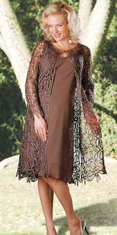 Exquisite Soulmates Silk Dresses for Evening and Mother of the Bride / Groom Dresses at TheRoseDress