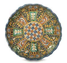 Coppa Montelupo, bottega del 1580 -1590 circa ,