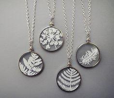 Cut Paper Nature Pendants   Flickr - Photo Sharing!