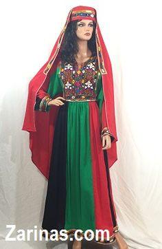 Shagufa Afghan Kuchi Tribal Dress http://www.zarinas.com/dresses2.shtml