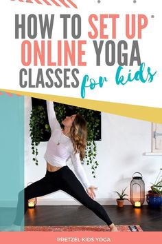 Ready to transition your live classes to online? Here's how to teach kids yoga from your home. Yoga For Kids, Exercise For Kids, Teaching Kids, Kids Learning, Childrens Yoga, Online Yoga Classes, How To Teach Kids, Mindfulness For Kids