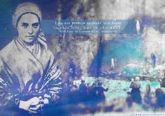 """I do not promise to make you happy in this life, but in the next."" -Our Lady of Lourdes to St. Bernadette"