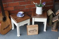 Pair of Diddy French Style Tables