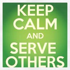 serving others pinterest   Serve others.