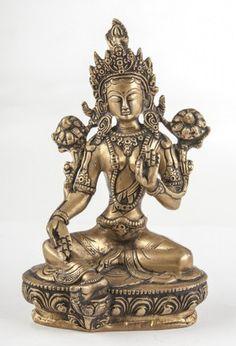 Grüne Tara aus Messing - 21 cm Messing, Lion Sculpture, Bronze, Ebay, Feng Shui, My Style, Asia, Green, Gold
