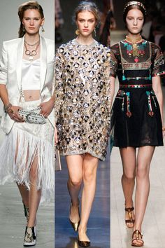 The Spring 2014 Runway Trend report is in. See all the biggest trends here.