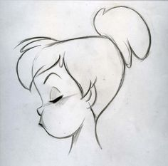 Steve Thompson Drawing Of Tinkerbell