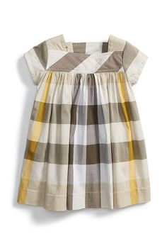 bd130d27c Burberry Button Tab Check Cotton Dress (Toddler Girls) - was $185.0, now  $110.98