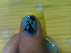 Sophie's Nail Art Dreamland: Mary Poppins and put a kite in the sky on another nail