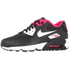 Nike-Air-Max-90-MESH-GS-Women-Casual-Shoes-Trainers-Essential-OG-BW-Premium-1
