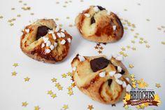 Bonjour Darling - Blog Illustration, Cuisine et DIY Bordeaux: ♛ Minis Brioches des rois coeur chocolat ♛