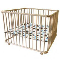 Un parc bébé pliable, design et modulable : pour accompagner la croissance de bébé... et vos changements de déco!