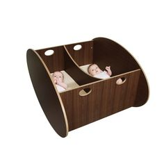 This twin bassinet/rocker is over $1000. Whaaaat? To the workshop!!!