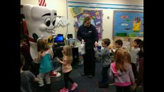 Thank you Viking Elementary for letting us come talk to the 4k classes about dental health!