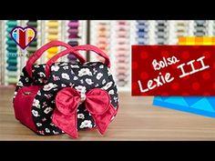 Bolsa em tecidos Lexie III - Maria Adna Ateliê - Aula de bolsa em tecidos - Bolsas em tecido - YouTube