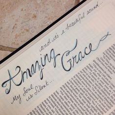 Titus - for the grace of God that brings salvation has appeared to all men **AMAZING GRACE** [credit to MM. Faith Bible, Bible Truth, Bible Prayers, Bible Scriptures, Bible Study Journal, Journal Art, Art Journaling, Book Of Titus, Scripture Art