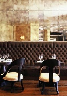 these are the booths and chairs we are going to be using. however we would change the chair cushions to burgundy.. we will also be using the booths at the front of the restaurant for the waiting area.