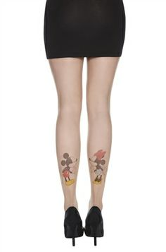 e4b6673c199366 Primark - Disney Tights Looks like she has the cutest tattoos. Disney Pjs,  Disney