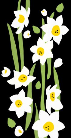 Daffodils by Ophelia Pang #illustration