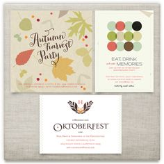 'Fall/winter parties', on Minted.com