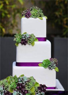 INSPIRAÇÃO: Casamento roxo e verde oliva   Casar é um barato