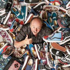 Основатель Vans - Стивен Ван Дорен в горееееее красивейших кед 😎 #vans #sk8 #skate #skateboard #streets #skateshoes #streetwear