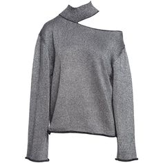 LANGLEY TURTLENECK SWEATER ODYSSEY (2,125 MYR) ❤ liked on Polyvore featuring tops, sweaters, cut out turtleneck, cutout tops, turtleneck top, cut out top and turtle neck sweater