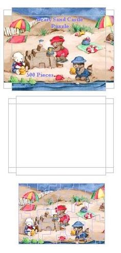 printable dollhouse puzzle - j stam - Picasa webbalbum