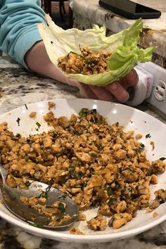 """Chef John's Chicken Lettuce Wraps 